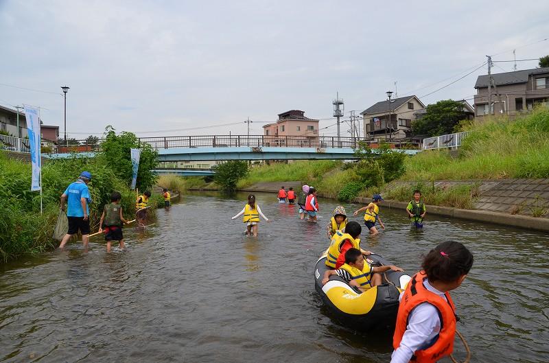 【にいざネイチャー】川遊び